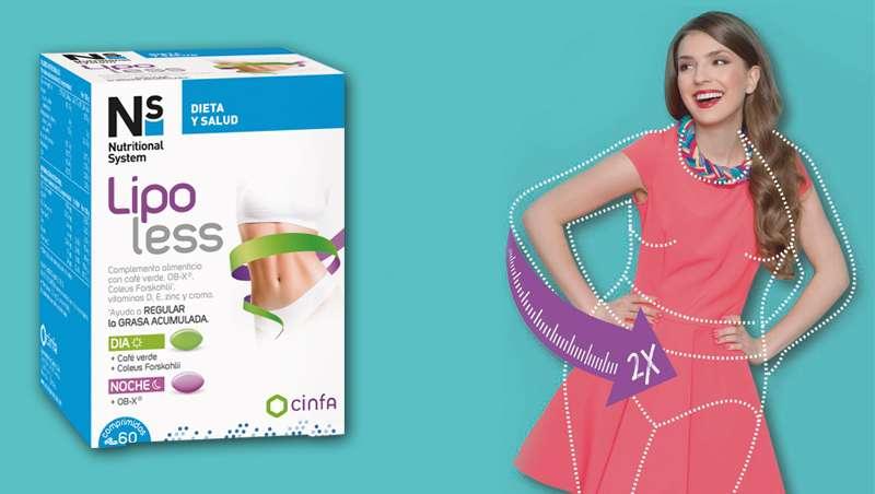 Ns Lipoless, la ayuda para regular la grasa acumulada