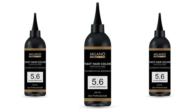 Color en 10 minutos, Fast Hair Color de Milano Cosmetics