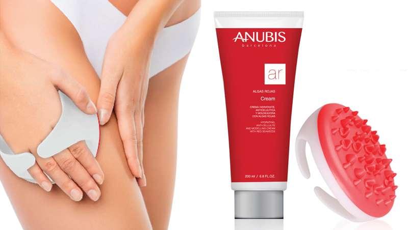 Pack corporal Algas Rojas, tratamiento anticelulítico de Anubis