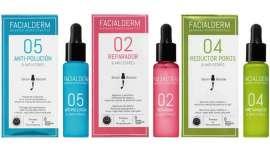 Facialderm presenta sus soluciones cosméticas inteligentes que combaten con máxima eficacia los signos del estrés facial en todo tipo de piel