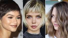 Desde as camadas e o volume, passando pela incombustível franja, o lob, o bob, o pixie, estas são as cinco tendências que te vão pedir no teu cabeleireiro