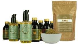 Oro líquido, natural y botánico, elaborado con aceites orgánicos de girasol, oliva, almendras, sésamo y zanahoria