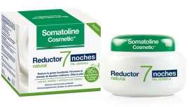 Reductor 7 noches natural piel sensible, la última novedad de Somatoline Cosmetic para remodelar la figura, 95% de principios activos de origen natural
