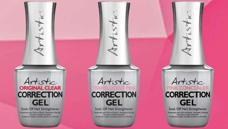 Seis razones por las que Artistic Correction Gel no puede faltar en tus manicuras