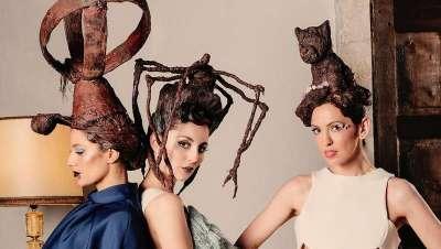 Yolanda Aberasturi, homenaje a Bilbao en su nueva colección de peinados de chocolate