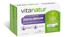 El equilibrio emocional puede controlarse con la ayuda de complementos alimenticios como Vitanatur Equilibrium