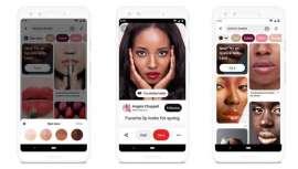 """O Pinterest lança """"Testar"""", a sua nova tecnologia de Realidade Aumentada que permite testar Maquilhagem antes de comprá-la"""