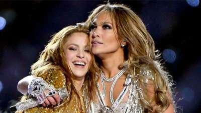 Cabelos XXL e ao vento, Shakira e Jennifer López confirmam que são tendência na Super Bowl