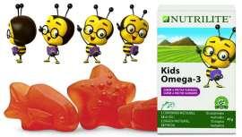 Nutrilite presenta estos comprimidos masticables para niños que favorecen el desarrollo y crecimiento normal de sus huesos