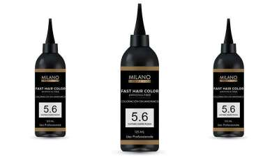 Cor em 10 minutos, Fast Hair Color de Milano Cosmetics