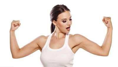 ¡Arriba esos brazos! Cinco secretos de Carmen Navarro