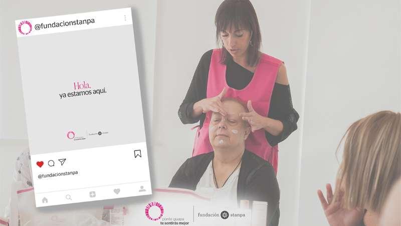 Fundación Stanpa, siempre al lado de los enfermos con cáncer, ahora con consejos de belleza y cuidado en formato digital