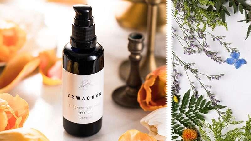 Aceite de masaje Erwachen, energía pura y refinada para cuerpo y mente