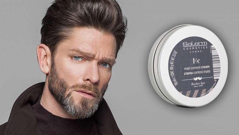 Mais corpo para cabelos finos com a nova cera de Salerm Cosmetics Homme