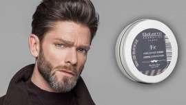 Este Creme Mate dá volume e fixação aos cabelos masculinos. Salerm Cosmetics Homme aposta num acabado natural para eles