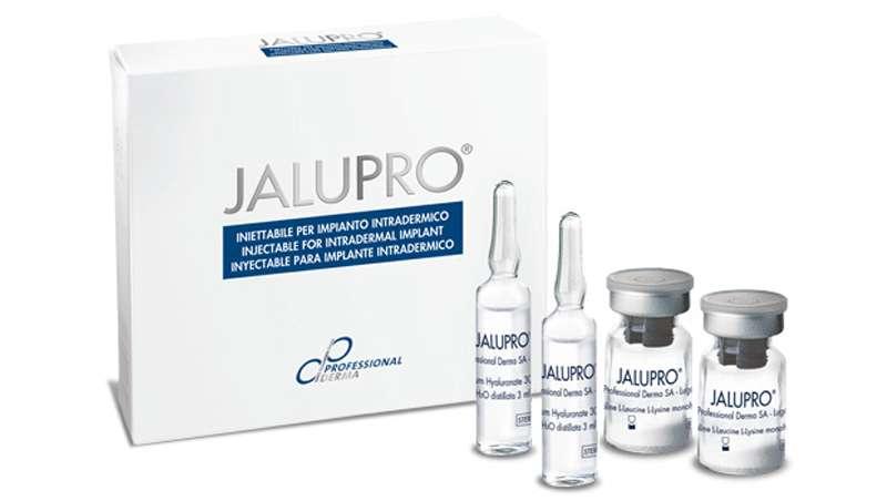 Inyectables contra las arrugas y para la revitalización cutánea, Jalupro