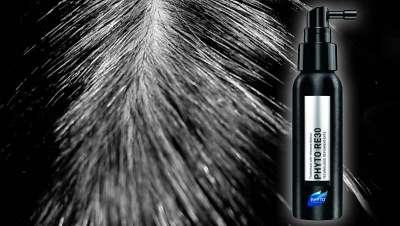Phyto Re 30, primer tratamiento que camufla los cabellos blancos, sin pigmentos colorantes