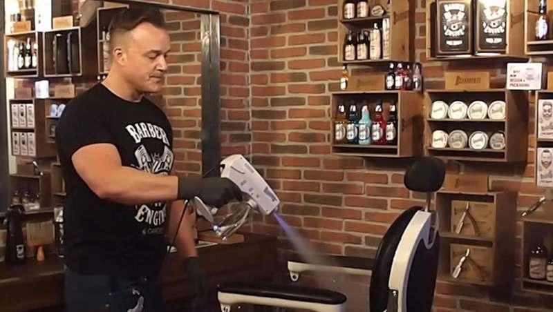 Pistola nebulizadora StreamerGun, la higiene garantizada en tu peluquería o barbería de Beardburys