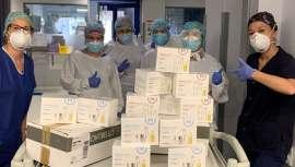 La firma dona cremas de manos y de rostro a profesionales sanitarios de hospitales para apoyar a los profesionales del sector en esta lucha contra la Covid-19