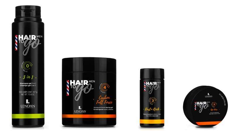 La línea de styling que todo hombre desea, Hair to go MAN