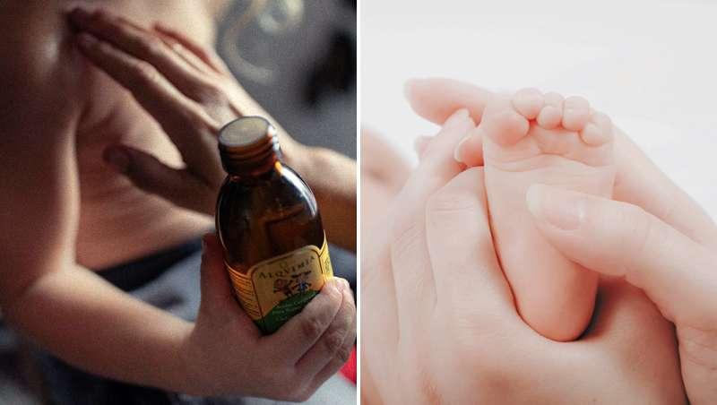 Usos terapêuticos dos óleos vegetais e essenciais para os mais pequenos