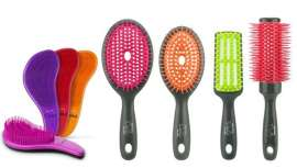 La nueva gama de cepillos Deslía Bright Day sigue los pasos de su predecesor, Deslía Hair Flow redondo, con el que comparte material base y tecnología