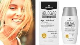 Cantabria Labs lanza Heliocare 360 Age Active Fluid como fotoprotector que protege de la radiación solar y la contaminación, además de enmendar los efectos del paso del tiempo