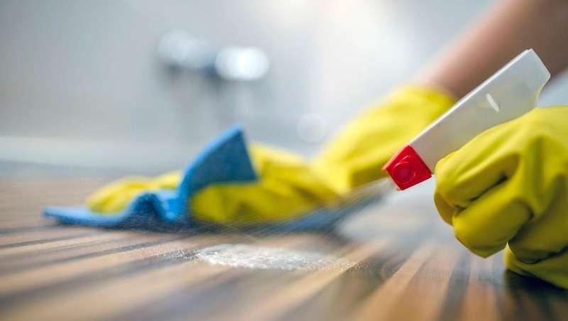 Métodos de desinfeção dos espaços laborais