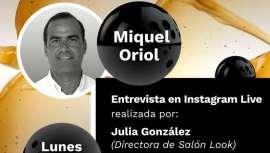 Julia González, directora de Salón Look, entrevistará a Oriol en directo desde Instagram