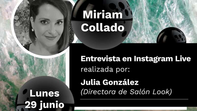 La esteticista Miriam Collado en 'Los Encuentros de Look', con Julia González