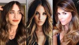 ¿Un extra de luminosidad para un cabello de base oscura? Golden Brunette, las mechas para morenas que iluminan el rostro y embellecen. Un color de pelo ideal para el verano