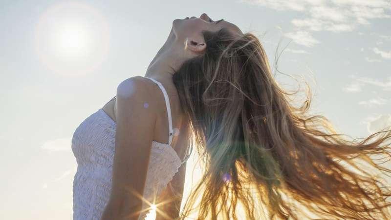 Solares para el pelo, la protección ideal