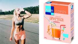 Kölln recomienda una receta de bebida energética casera elaborada con ingredientes naturales y con su ingrediente secreto: los Copos de Avena Solubles Kölln, que aportan un extra de energía