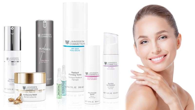 Por qué elegir Janssen Cosmetics