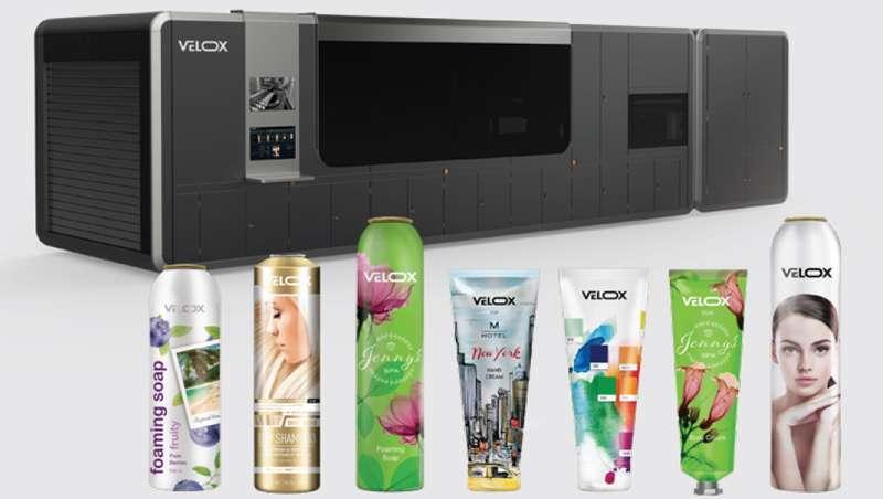 Impressão digital, a solução eficiente e sustentável para a decoração de tubos e aerossóis de tintas e outros produtos cosméticos