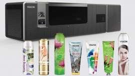 DTS de Velox é uma solução de impressão digital que reduz custos e rebaixa ao máximo o impacto meio-ambiental na estampagem e motivos decorativos de tubos e aerossóis na indústria de cabeleireiro em particular e os cosméticos em geral