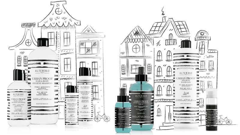 Limpeza profunda do cabelo, do corpo e das superfícies numa só linha, Urban Proof Hygiene