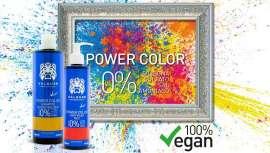 Power Color es una línea que proporciona un tono intenso y brillante, que se mantiene entre coloración y coloración sin alterar la estructura natural del cabello