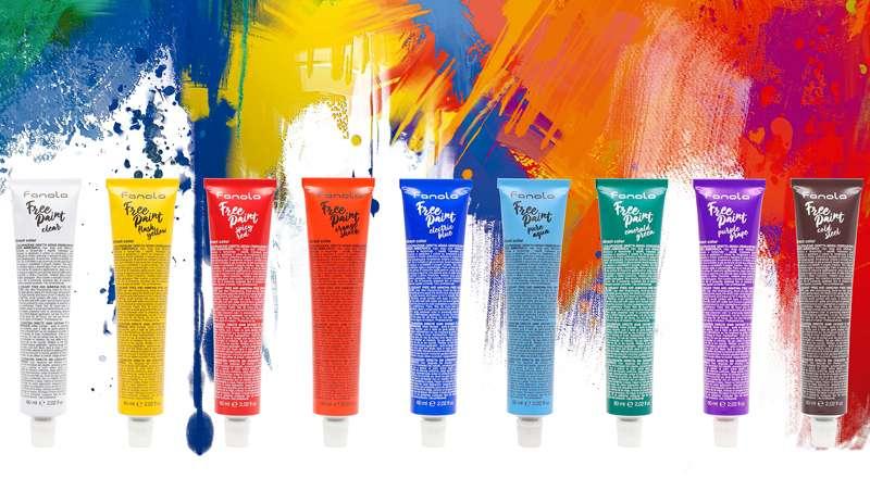 Free Paint, la libertad creativa y de expresión del color en el cabello, por Fanola
