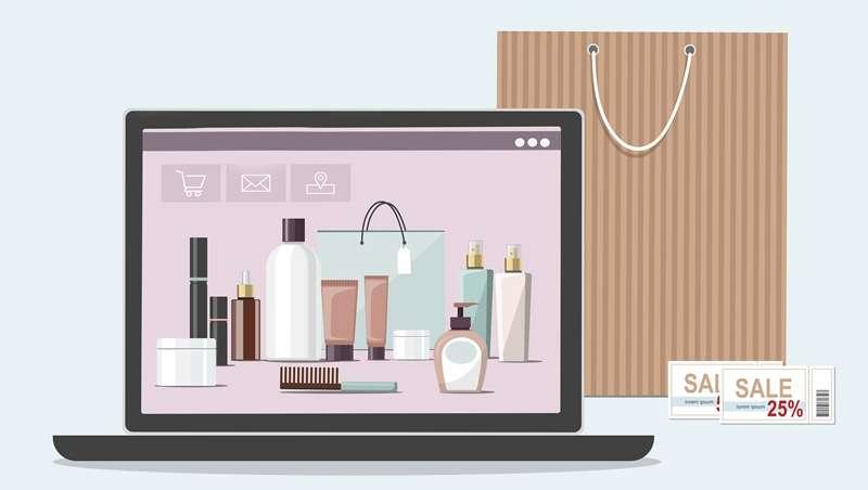 Las ventas on-line de productos de belleza, imparables