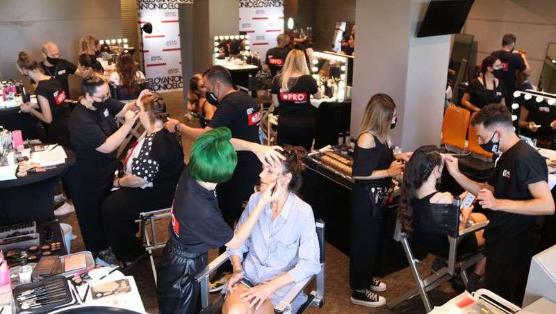 La peluquería española brilla como nunca con Antonio Eloy y su equipo de estilistas en el Festival de Málaga