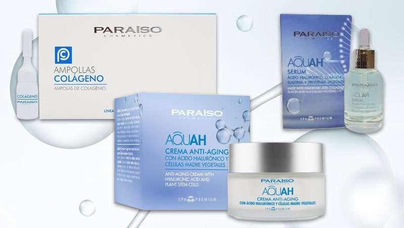 Paraíso Cosmetics presenta el Tratamiento Facial Aquah, los mejores activos antiedad para la perfecta hidratación de la piel