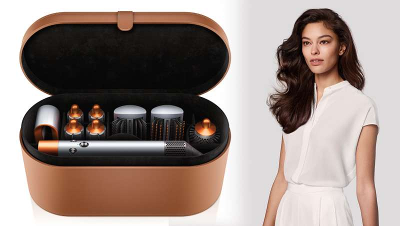 El color cobre se adueña de la nueva edición limitada del secador Dyson Supersonic y el Moldeador Dyson Airwrap