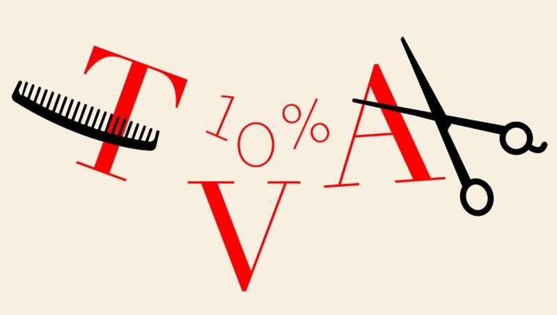 Francia dice NO a la bajada al 10% del IVA en peluquerías