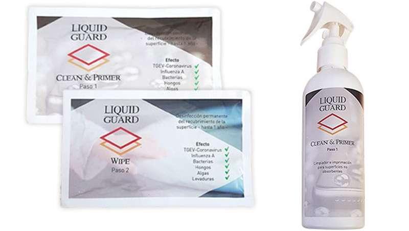 Liquid Guard, nanotecnología para la desinfección permanente de superficies contra el Covid-19