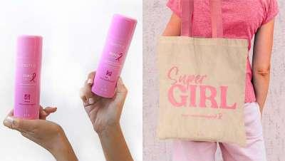 Pink Edition de Kin Cosmetics, la acción solidaria de la firma contra el cáncer de mama