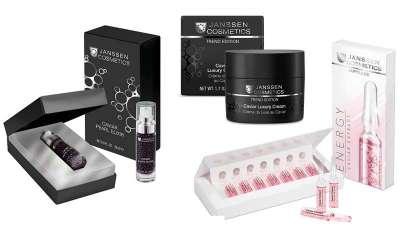 Caviar, el lujo exquisito y resultado de belleza extremo para la piel de Janssen Cosmetics