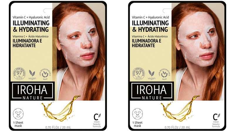 Una mascarilla 100% biodegradable que ilumina como nunca antes, con Vitamina C pura