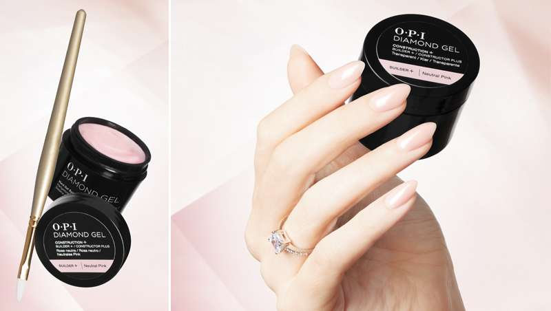 OPI Diamond Gel, rendimiento superior al tradicional gel duro para uñas