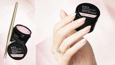 OPI Diamond Gel, rendimento superior ao tradicional gel duro para unhas